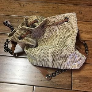 Spiral brand new without tags bucket bag
